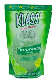 Picture of KLASS LISTO Lemonade Drink Mix 14.1 oz - Item No. 54177-83292