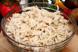 Picture of Filling for Chicken Tacos--The Purist's Way & The Cheater's Way Mexican Recipes - Item No. 557-filling-for-chicken-tacos