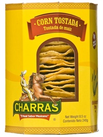 Picture of Charras Tostadas Natural Yellow 8.5 oz - Item No. 56702-13254