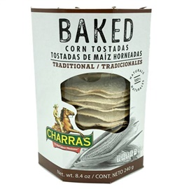 Picture of Charras Natural Baked Tostada 8.5 oz- Item No.56702-13269