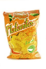 Picture of Platanitos Plantain Chips with Chile and Lemon 3.5 oz Pack of 3- Item No.56869-00939