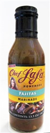 Picture of Chef LaLa Homemade Fajitas Marinade - Item No. 56993-00208