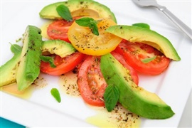 Picture of Avocado Tomato Egg Salad Mexican Recipe - Item No. 571-avocado-tomato-egg-salad