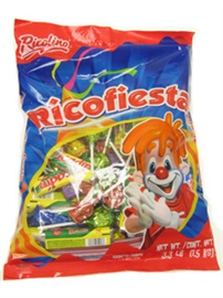 Picture of Ricolino RicoFiesta Pi�ata Mix 3.3 LB Bag - Item No. 5713