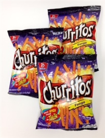 Picture of Barcel Churritos Fuego 4 oz (Pack of 3) - Item No. 57528-01060