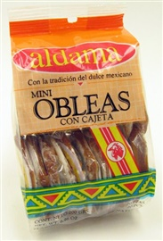 Picture of Oblea de Cajeta Aldama Mini 20 count - Item No. 5760