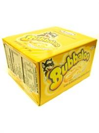 Picture of Adams Bubbaloo Bubble Gum Banana 50 pieces (Platano)- Item No.5771