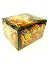 Picture of Adams Bubbaloo Fuego Bubble Gum  60 pieces- Item No.5773