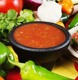 Picture of Red Chile Sauce Mexican Recipe- Item No.589-red-chile-sauce