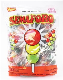 Picture of Semaforo Lollipops 22.6 oz - Item No. 59686-76017