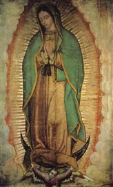 Picture of Our Lady of Guadalupe Poster - Virgen de Guadalupe Poster - Medium  36'' x 21'' - Item No. 61003