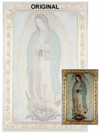Picture of Our Lady of Guadalupe Poster - Small  27'' x 16'' - Item No. 61004
