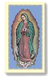 Picture of Nuestra Senora de Guadalupe - Virgen de Guadalupe 10 estampas- Item No.61026