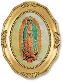 Picture of Our Lady of Guadalupe Oval Picture - Item No. 61027