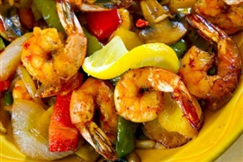 Picture of Shrimp in Garlic Sauce Mexican Recipe - Item No. 614-shrimp-in-garlic-sauce-ii