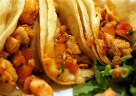 Picture of Bay of Los Angeles Lobster Tacos Recipe - Item No. 620-bay-of-la-lobster-tacos