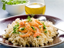 Picture of Spicy Shrimp and Rice Mexican Recipe - Item No. 622-spicy-shrimp-and-rice