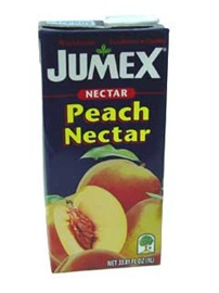 Picture of Peach Nectar by Jumex 33 FL OZ. - Item No. 6237