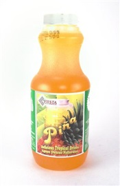 Picture of Fiesta Concentrate Pineapple - Delicious Tropical Drinks 16 fl. oz - Item No. 6243