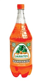 Picture of Mandarin Flavor - Jarritos Mandarina Soft Drink 1.5 liter - Item No. 6266