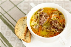 Picture of Liver Soup - Sopa de Higaditos de Pollo Mexican Recipe - Item No. 632-liver-soup
