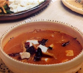 Picture of Tortilla Soup Mexican Style Recipe - Item No. 640-tortilla-soup-mexican-style