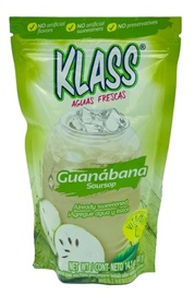 Picture of Guanabana Drink Mix - KLASS LISTO Agua de Guanabana  - 14.1 oz - Item No. 6464