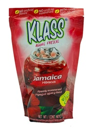 Picture of Hibiscus - KLASS Jamaica Instant Drink Mix Listo 14.1 oz - Item No. 6465