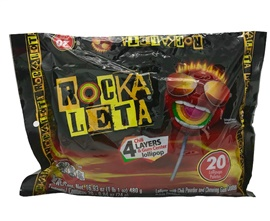 Picture of Rockaleta by Sonric's 15.4 oz - 20 pieces - Item No. 68044-00802