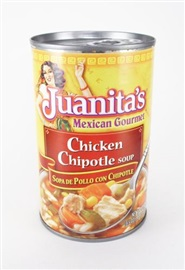 Picture of Juanita's Chicken Chipotle Soup 18.5 oz - Item No. 70132-073128