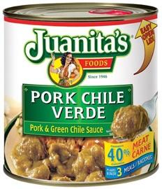 Picture of Chile Verde - Juanita's Chile Verde - Pork & Green Chile Sauce- Item No.70132-07382