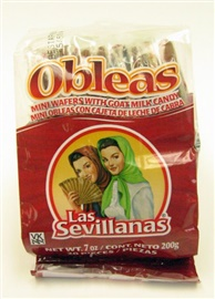 Picture of Las Sevillanas Mini Oblea con Cajeta 20 ct - Item No. 7119