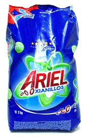 Picture of Ariel Laundry Detergent Size 2 Kilos - 4.4 lbs - Item No. 7231