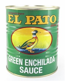 Picture of Green Enchilada Sauce by El Pato - Item No. 72360-00210