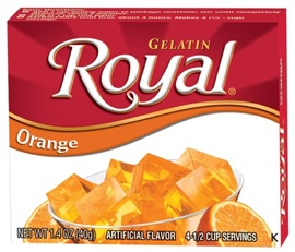 Picture of Royal: Fresca-Orange Gelatin (2.8 oz) pack of 3 - Item No. 72392-01071