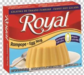 Picture of Royal: Fresca-Egg Nog Gelatin with milk (2.8 oz) pack of 3- Item No.72392-01181