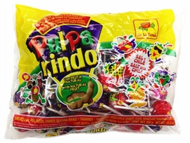 Picture of Pulparindo Assorted Hard Candy Lollipops 33.5 oz  - Item No. 725226-003108