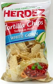 Picture of Tortilla Chips White Corn by Herdez - Item No. 72878-07144