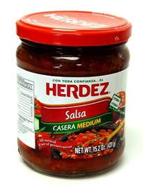 Picture of Salsa Casera Medium - Snack Size by Herdez - Item No. 72878-27510