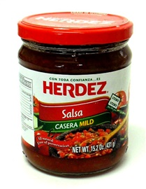 Picture of Salsa Casera Mild - Snack Size by Herdez - Item No. 72878-27563