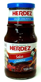 Picture of Salsa Chipotle Herdez  16 oz - Item No. 72878-27578