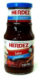 Picture of Salsa Chipotle Herdez  16 oz- Item No.72878-27578