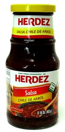 Picture of Salsa Chile de Arbol Herdez - Item No. 72878-27582