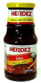 Picture of Salsa Chile de Arbol Herdez- Item No.72878-27582