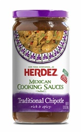 Picture of Traditional Chipotle Mexican Cooking Sauce by Herdez - Item No. 72878-69066