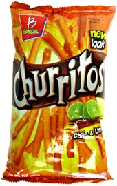 Picture of Barcel Churritos Red Chili Pepper and Lime 9.88 oz - Item No. 74323-02751