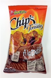 Picture of Barcel Papas Toreadas A La Diabla Potato Chips 4.94 oz - Item No. 74323-03427