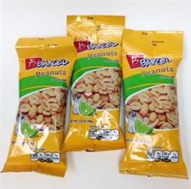 Picture of Barcel Salt & Lime Peanuts 3.17 oz (Pack of 3)- Item No.74323-06004