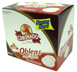 Picture of Coronado Obleas con Cajeta (10 pcs. w/ 3pack) 9.5 oz - Item No. 74323-09279