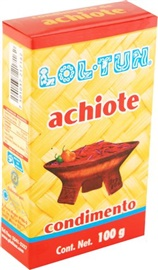 Picture of Lol Tun Achiote Condiment 3.5 oz - Item No. 7501037-217162